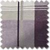 Balmoral Check Eyelet, Plum - Ready Made Curtains