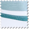 Metropole Voile, Teal - Ready Made Curtain