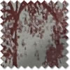 Oak Tree Eyelet (Dimout), Red - Ready Made Curtains