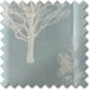 Woodland Trees Eyelet, Duck Egg - Ready Made Curtains