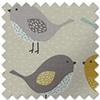 Birds, Ochre - Roman Blind
