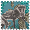 Monkeying Around, Lagoon - Roman Blind
