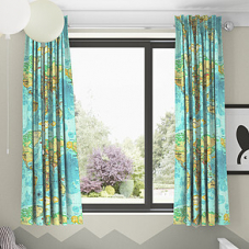 Atlas, Azure - Made to Measure Curtains