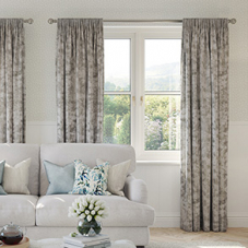 Crushed Velvet, Champagne - Made to Measure Curtains
