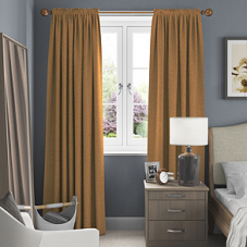 Emperor, Gold - Made to Measure Curtains