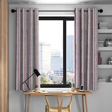 Guarda Stripe, Grape - Made to Measure Curtains