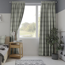 Mull, Granite - Made to Measure Curtains