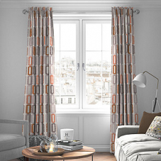 Soho, Terracotta - Made to Measure Curtains