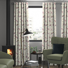 Tulipa, Soft Red - Made to Measure Curtains
