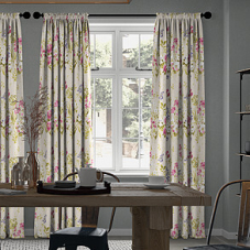 Wild Meadow, Magenta - Made to Measure Curtains