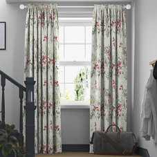Wild Meadow, Ruby - Made to Measure Curtains