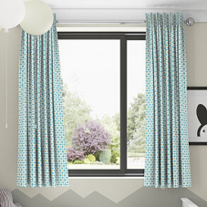 Zap, Azure - Made to Measure Curtains