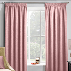 Adelaide (Thermal Dimout), Blush - Ready Made Curtains