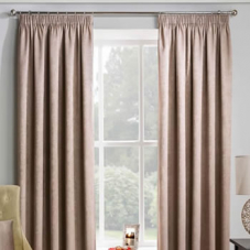Adelaide (Thermal Dimout), Latte - Ready Made Curtains