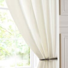 Batiste Voile, Cream - Ready Made Curtain