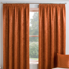 Gemini (Dimout), Spice - Ready Made Curtains