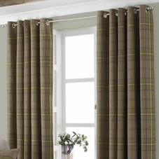 Harris Eyelet (Dimout), Thistle - Ready Made Curtains