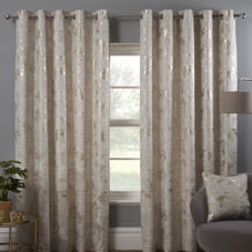 Osaka (Eyelet), Natural - Ready Made Curtains