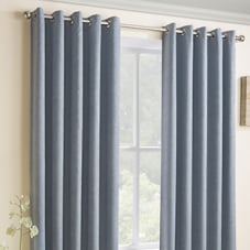 Vogue Eyelet (Thermal Dimout), Duck Egg - Ready Made Curtains