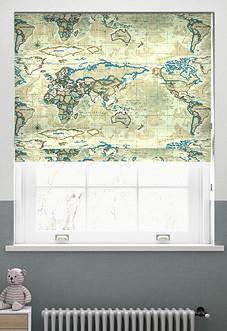 Atlas, Antique - Roman Blind
