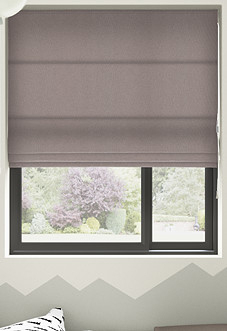Knightsbridge, Smoke - Roman Blind
