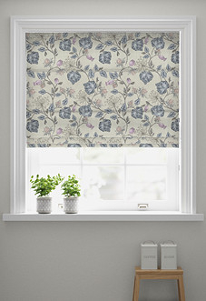 Parchment, Feather - Roman Blind