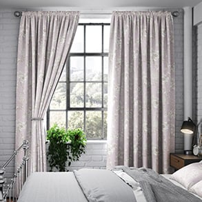 Aquataine, Rose - Made to Measure Curtains