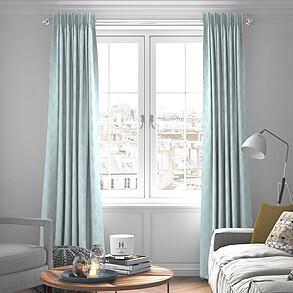 Boudoir, Sky - Made to Measure Curtains