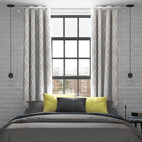 Deco, Alabaster - Made to Measure Curtains