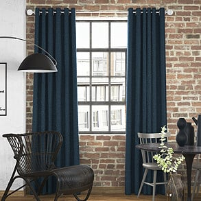 Devonshire, Denim - Made to Measure Curtains