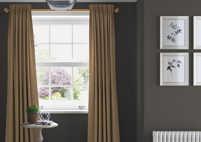 Devonshire, Mink - Made to Measure Curtains