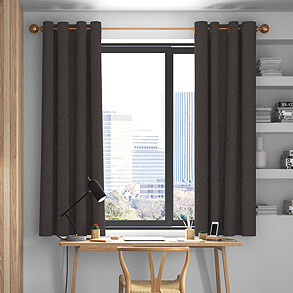 Devonshire, Mocha - Made to Measure Curtains