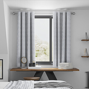 Ditto, Slate - Made to Measure Curtains