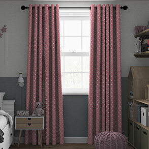 Dotty, Rose - Made to Measure Curtains