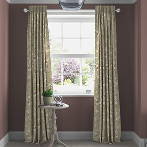 Emi, Mulberry - Made to Measure Curtains
