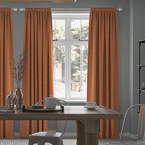 Emperor, Orange - Made to Measure Curtains