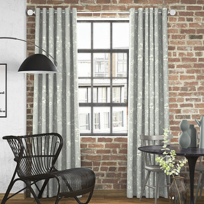 Etched Vine, Feather - Made to Measure Curtains
