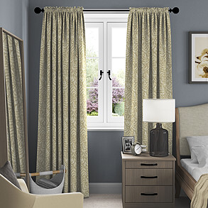 Fernshore, Fennel - Made to Measure Curtains