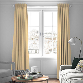 Fiji, Natural - Made to Measure Curtains