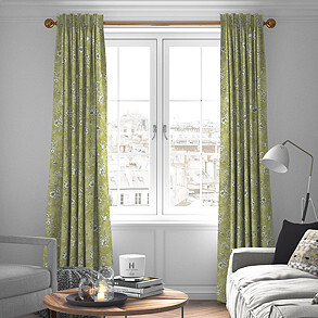 Finch Toile, Willow - Made to Measure Curtains