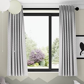 Full Stop, Vellum - Made to Measure Curtains