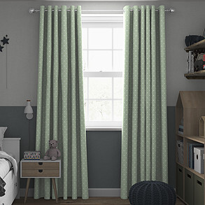 Full Stop, Willow - Made to Measure Curtains
