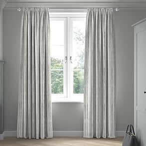 Guarda Stripe, Grey - Made to Measure Curtains