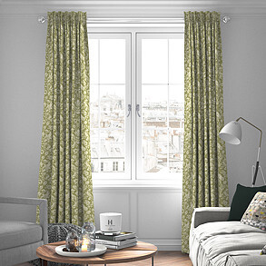 Heathland, Moss - Made to Measure Curtains