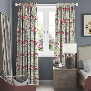Hedgerow, Magenta - Made to Measure Curtains