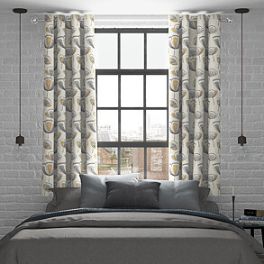 Helix, Gold - Made to Measure Curtains