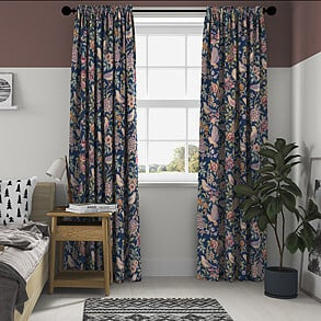 Heritage, Midnight - Made to Measure Curtains