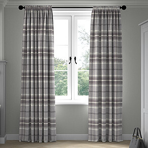 Highland, Dove Grey - Made to Measure Curtains
