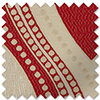 Kasian, Red - Made to Measure Curtains