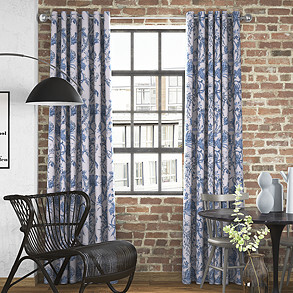 Linley, Larkspur - Made to Measure Curtains